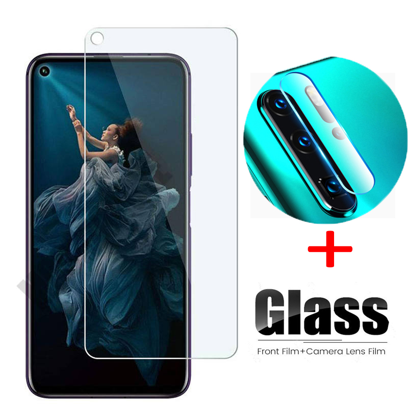 2 In 1 Tempered Glass For Huawei Honor 20 Pro Camera Lens Glass Protector For Huawei Honor 20 20pro Protective Transparent Film