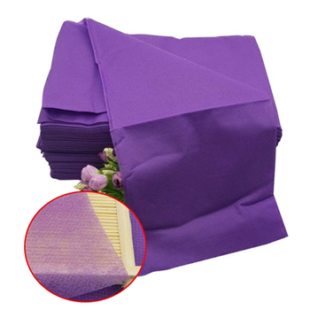 Purple Sterile Disposable Bed Sheets 10 pcs Set Blankets, Bedsheets & Pillowcases Disposables & Single-Use