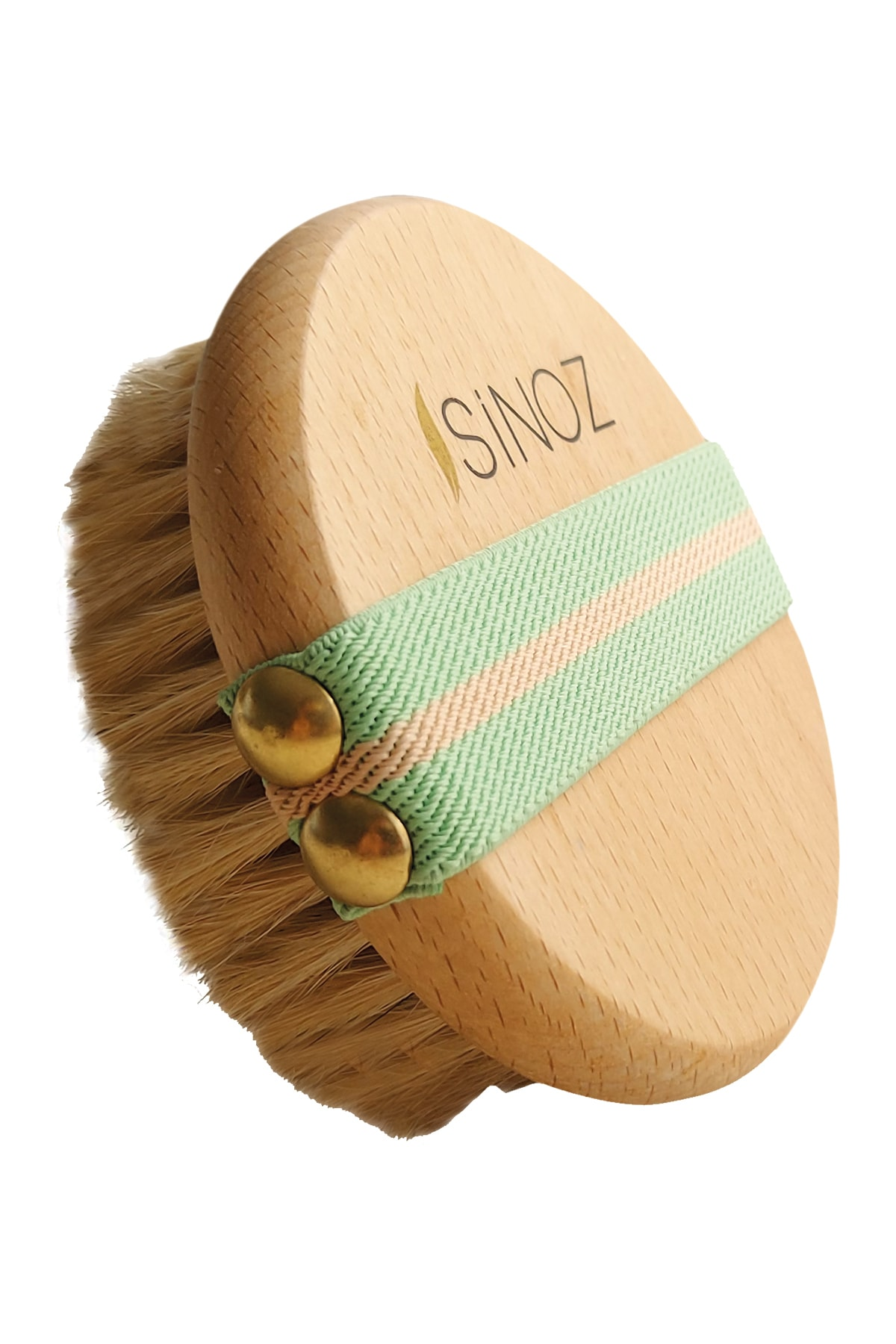 Horse Hair Brush | Cleans dead cells, accelerates blood circulation, gives your skin a bright and smooth appearance, 1 Pcs