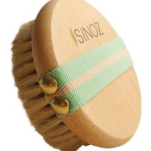 Horse Hair Brush   Cleans dead cells, accelerates blood circulation, gives your skin a bright and smooth appearance, 1 Pcs