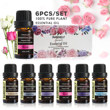 New 6Pcs/Set Essential Oil Water-soluble Relieve Stress For