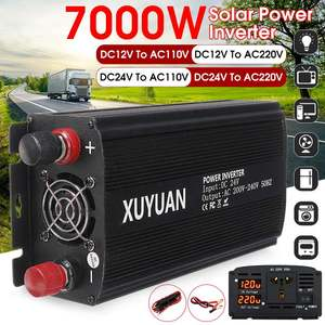 7000W Dual LED Solar Power Inverter 12V/