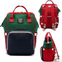 Mummy Maternity Diaper Bag Big Capacity Nappy Bag Travel Backpack Nursing Bag for Baby Care Women Fashion Outdoor Waterproof Bag