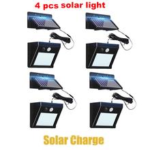 2/4pcs 100/56/30 LED Solar Power Lamp PIR Motion Sensor Wall Light Outdoor Waterproof Energy Saving Street Garden Yard Security 1 4pcs 30 40 led solar power lamp pir motion sensor wall light outdoor waterproof energy saving street garden yard security lamp