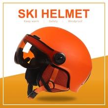 goexplore ski helmet ultralight women abs eps ce en 1077 skiing helmet adult outdoor sports skateboard snowboard helmet men Ski Helmet Snow Skateboard Helmet Ski Snowboard Helmet Integrally-molded Skiing Helmet For Adult and Kids