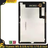 Repuesto de montaje de Sensor de M5 para Huawei MediaPad Digitalizador de pantalla táctil, Panel de pantalla LCD de 10,8 pulgadas, 8,4