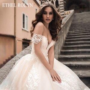 ETHEL ROLYN a-ligne robe De mariée 2020 élégant chérie dos nu Appliques princesse robes De mariée personnalisé Vestido De Noiva