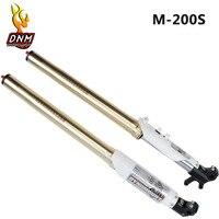 DNM Off road Motorcycle Motor Bike Front Inverted Suspension DH Fork Shock Absorber Bold Oil Spring Front Fork