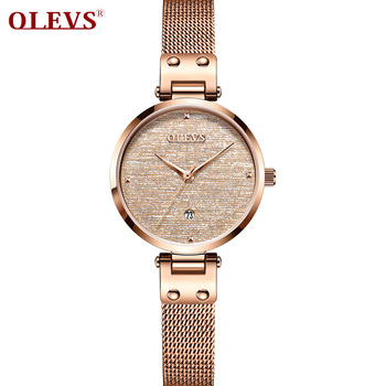 OLEVS Luxury Quartz Fashion Women Watch Top Brand Life Waterproof Casual Ladies Watch Montre Femme Clock Wristwatch Reloj Mujer new longbo luxury brand women watch gold ceramic bracelet lady quartz watch waterproof ladies clock relojes mujer montre femme