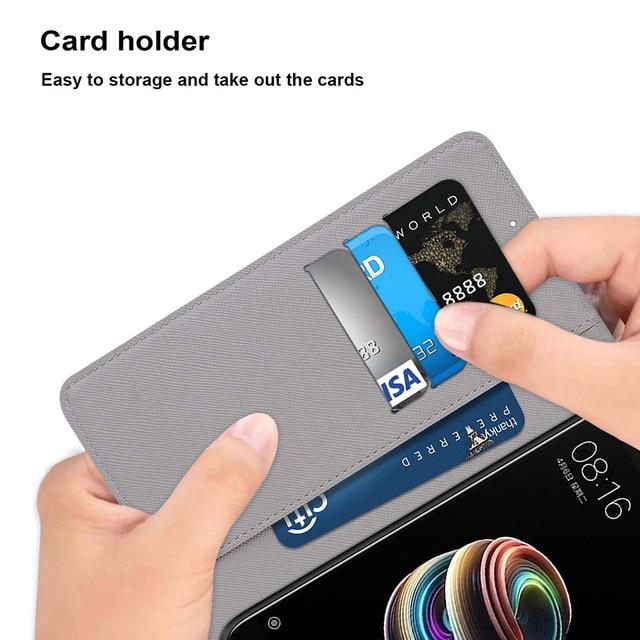 Cuir téléphone sac fente pour carte portefeuille étuis à rabat pour Asus ZenFone Max Pro (M1) ZB601KL ZB602KL (M2) ZB631KL ZB633KL ZB570TL couverture