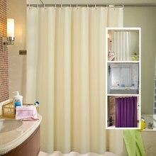 Водонепроницаемый peva ванная комната занавеска для душа набор