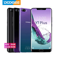 DOOGEE Y7 Plus CellPhone MTK6757 Octa-Core 2.5GHz 6GB RAM 64