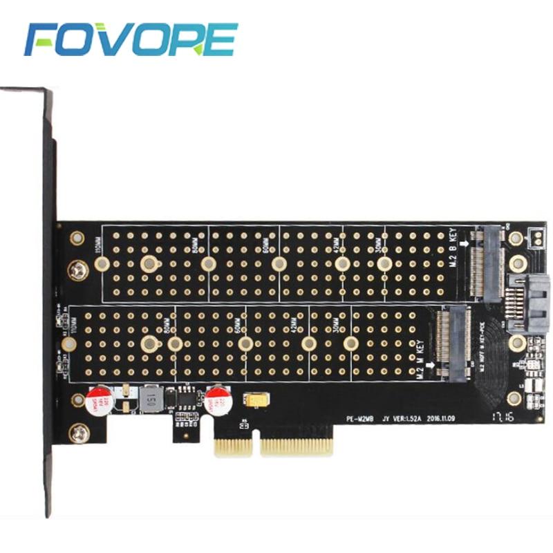 M.2 PCI e converter M.2 NVMe to PCI e converter AHCI M2 SSD b key PCI e PCI express adapter Card|Add On Cards| - AliExpress