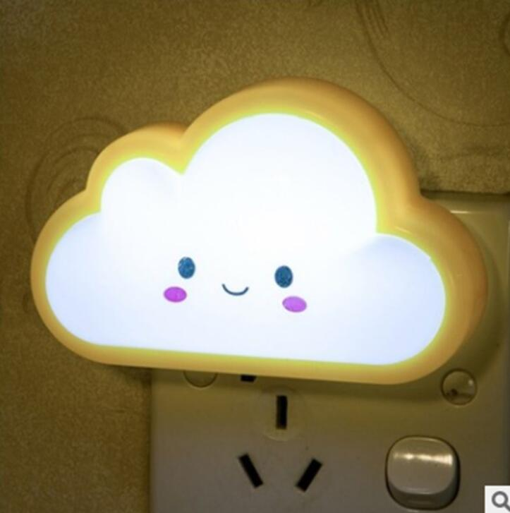 Novelty Creative Cute Switch LED Nightlight Bedside Light in Bedroom