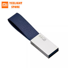 MI Mijia USB Flash Drive 64GB Mini portátil de Metal U disco Pen Drive de alta velocidad USB3.0 de memoria disco flash de almacenamiento Pendrive(China)