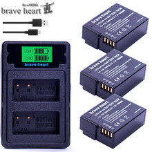 DMW-BLC12 BLC12E BLC12PP DMW BLC12 батарея+ двойное зарядное устройство/USB кабель для Panasonic Lumix FZ1000, FZ200, FZ300, G5, G6, G7, GH2, DMC-GX8
