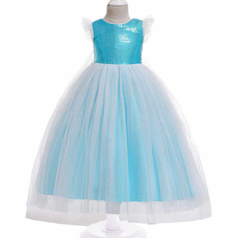 Новинка; Рождественский подарок; платье для маленьких девочек; Карнавальный Костюм Золушки; вечерние платья; платье принцессы; Костюм Золушки