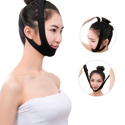 2019 Double Chin Skin Belt  Face Lift Tools Thin Face Bandage Mask Slimming Belt Facial Thin Masseter Women Anti Cellulite