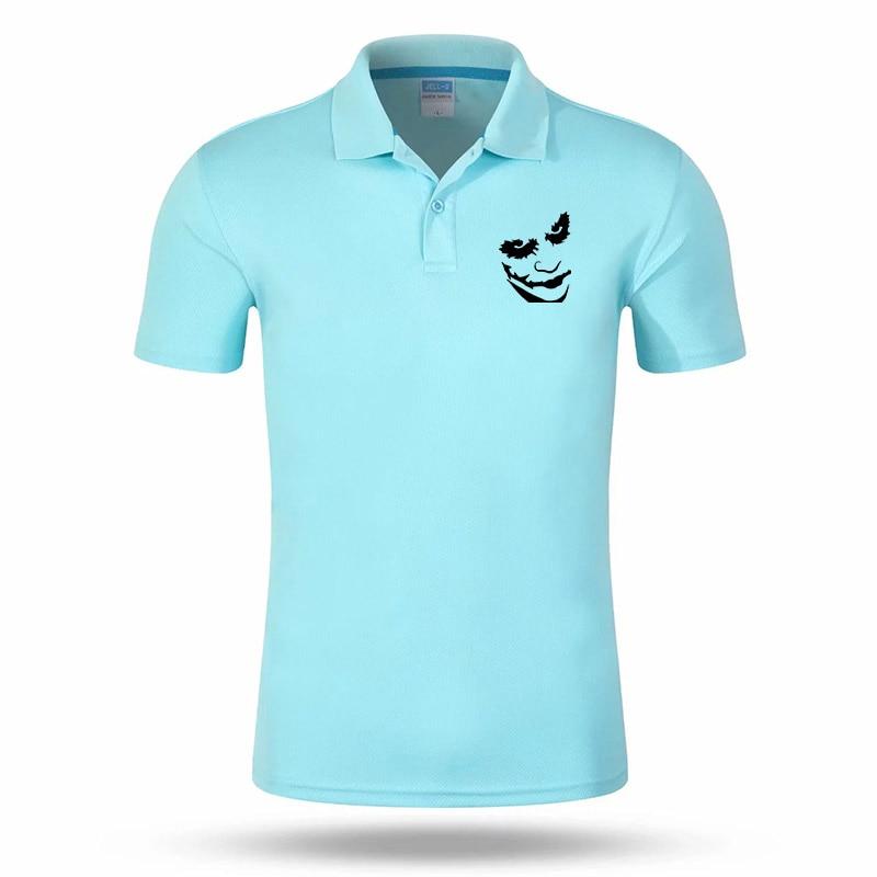 2019 Joker Cool New POLO Brand High Quality Quick-drying Man Polo Shirt Fashion Personality Short Sleeve Men's Fashion Top #153