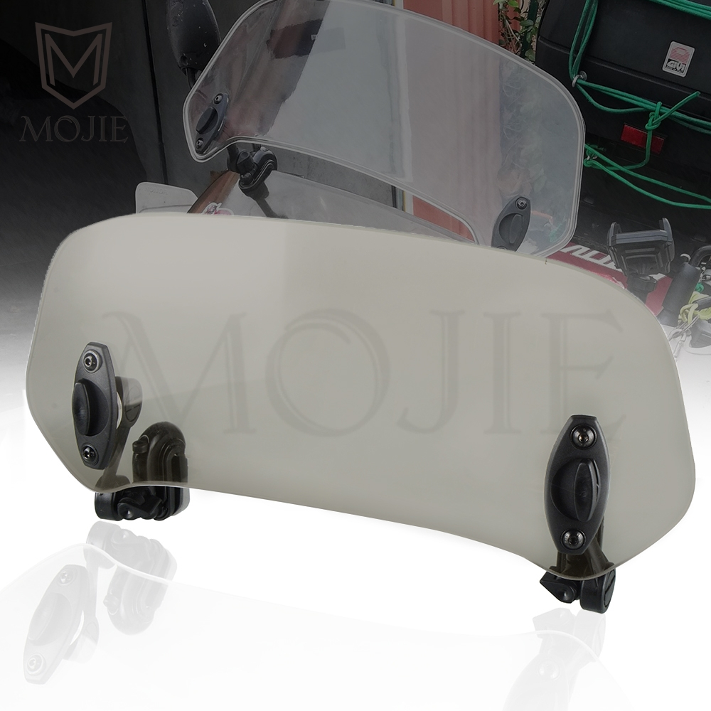Motorcycle <font><b>Windshield</b></font> Extension Spoiler Windscreen Air Deflector For <font><b>Suzuki</b></font> SV1000/S SV400 <font><b>SV650</b></font> A S F X TL1000S TL1000R VL150 image