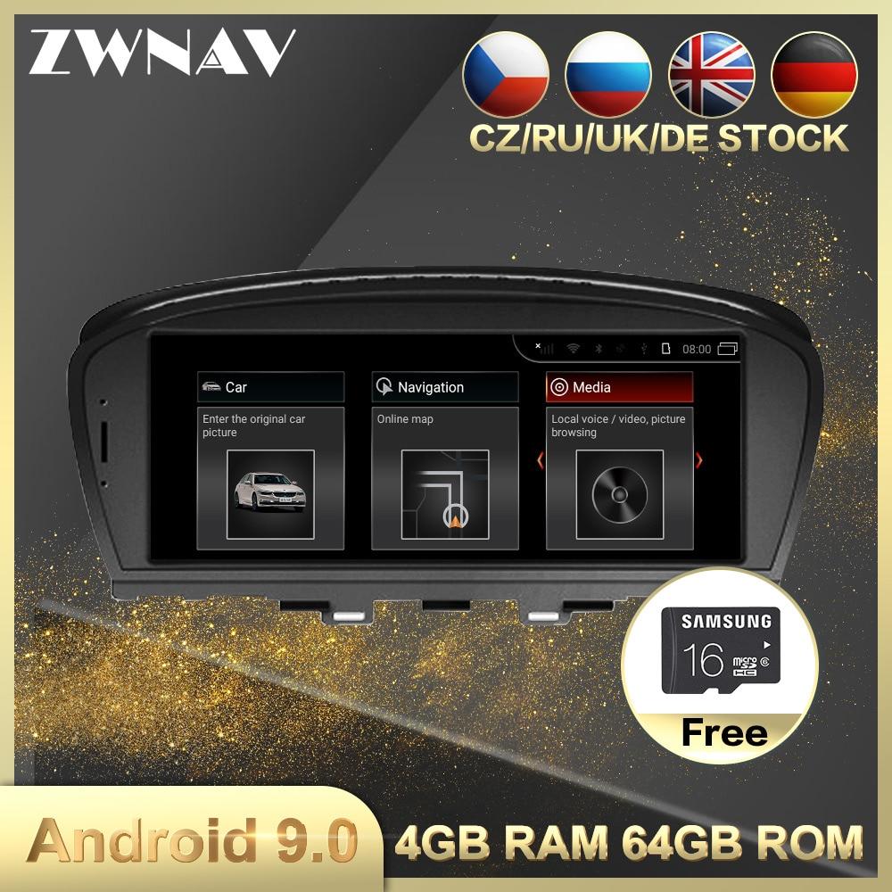 4G+64G Android 9.0 Car Multimedia Player GPS Navi For BMW 7er E65 E66 2001-2008 Car Auto Radio Stereo Head Unit Wifi BT Free Map