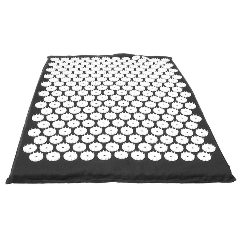 Acupressure Massage Mat with Pillow set to body Relaxation to Release Stress and Tension 18