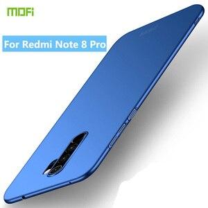 Оригинальный Mofi чехол для Xiaomi Redmi Note 8 Pro PC жесткий чехол для Xiaomi Redmi Note 8 Pro Пластик Матовый телефон случае Redmi Note8 Pro