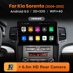 AWESAFE for Kia Sorento 2009 2010 2011 2012 Car Radio Multimedia video player GPS No 2din 2 din Android 10 2GB+32GB