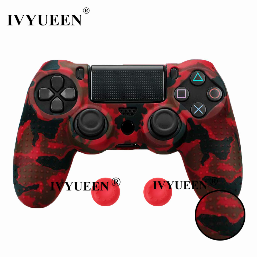 for PlayStation 4 ps4 Pro slim controller silicone case skin 20