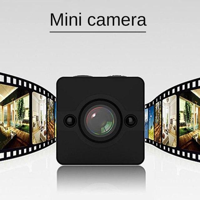 1080P SQ12 كاميرا صغيرة كاملة HD للرؤية الليلية كاميرا دقيقة SQ 12 كاميرا فيديو DV الحركة DVR الرياضة فيديو كاميرا صغيرة مسجل مقاوم للماء