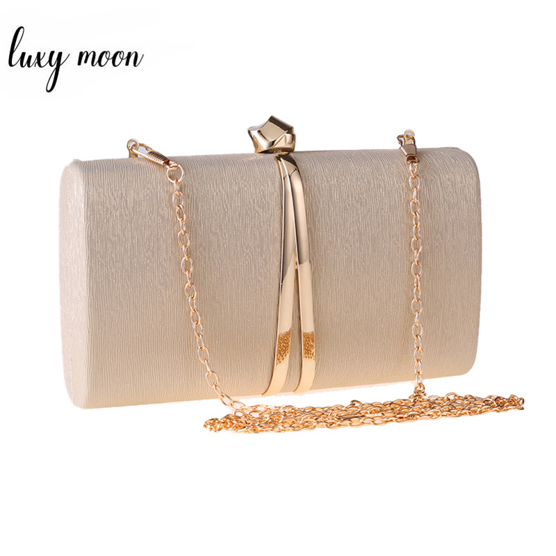 Women Gold Clutch Bag Purses And Handbags Evening Clutch Crossbody Bags For Women Chain Shoulder Bag Silver Black  ZD1382