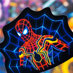 Image 5 - 30PCS Neon Superhero Avenger Stickers Sets Voor Gitaar Bagage Laptop Skateboard Motorfiets Auto Telefoon Sticker