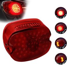 دراجة نارية مصباح ليد خلفي هارلي الفرامل بدوره إشارة الضوء الخلفي Smoked أضواء خلفية ل هارلي ديفيدسون دينا سبورتر 883 1200 روا