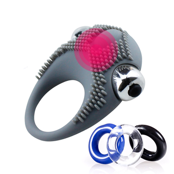 Premium Cock Vibrating Ring for Last Longer Harder Stronger Erection Share Ultimate Pleasure with Your Partner Enrich Your Life image