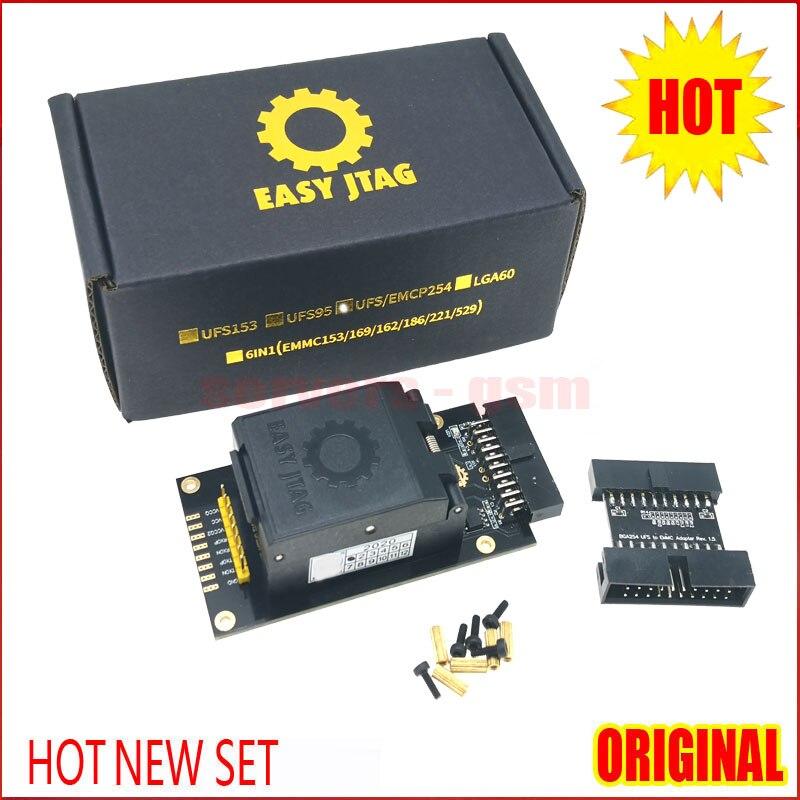 2020 Newest ORIGINAL Easy-Jtag Plus UFS BGA-254 Socket / EMMC 254 Adapter with EASY JTAG PLUS BOX work(China)