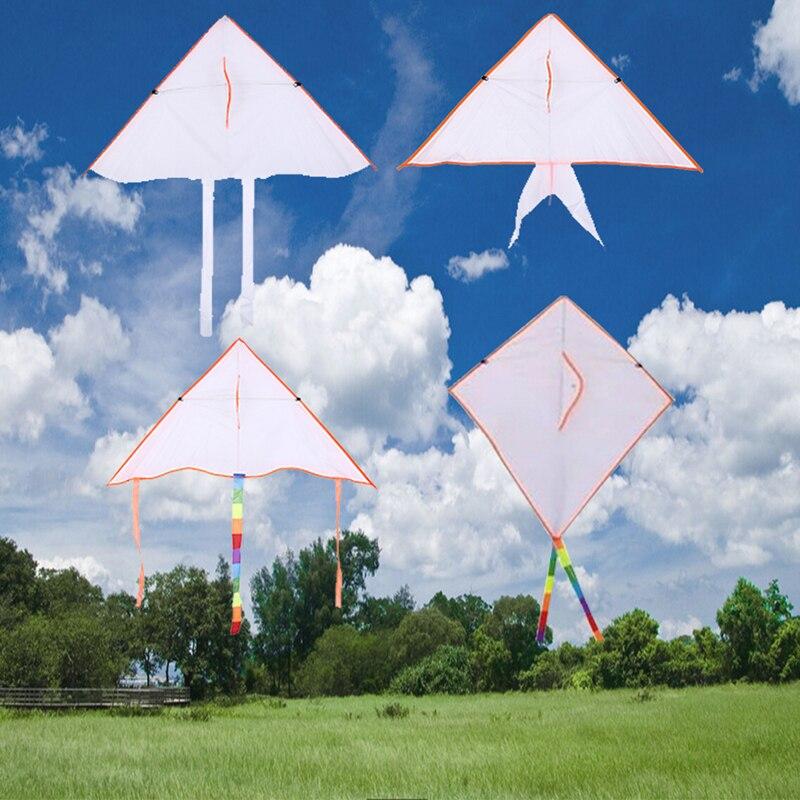 Blank Kite DIY Children's Drawing Doodle Kite Parent-child Activity Props