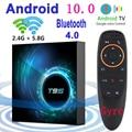 2020 Latest T95 Smart Tv Box Android 10 6k 2.4g & 5g Wifi Bluetooth 4.0 4g 16g 32gb 64gb 4k Quad Core Set-Top Box Media Player