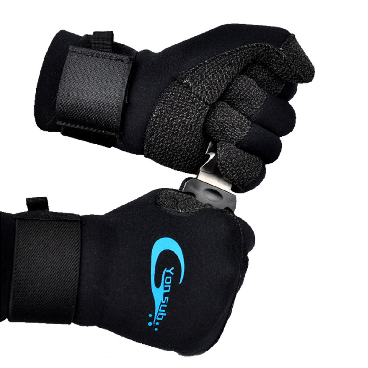 Yon Sub Kevlar Diviing Gloves Snorkeling Gloves Motorboat With Non-Slip Wear-Resistant Winter Swimming Gloves Factory Direct