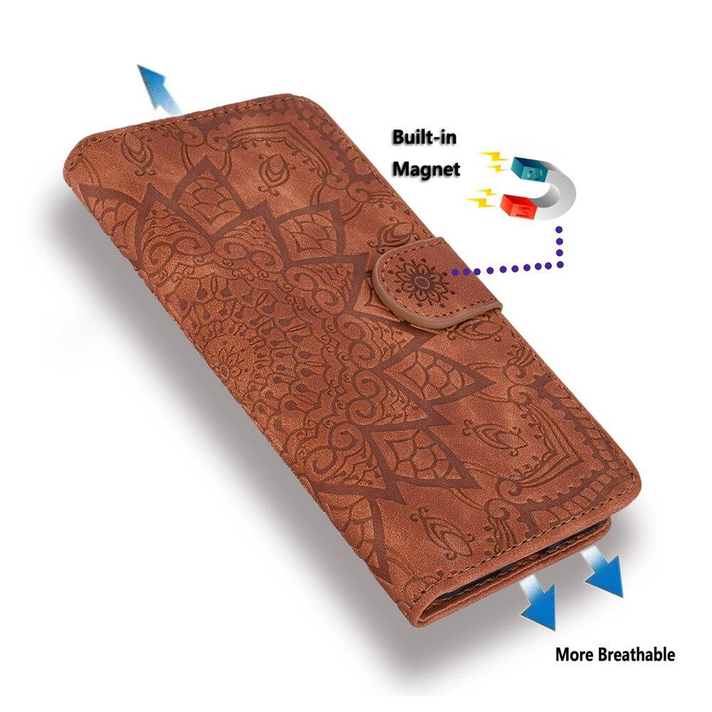 H0ce5db7eca63401895a28b49534ce45bf Matte Leather Phone Case For Samsung Galaxy A50 A70 A30 A40 A20 A10 A10E A20E A10S A20S A30S A50S Flip 3D Mandala Book Case
