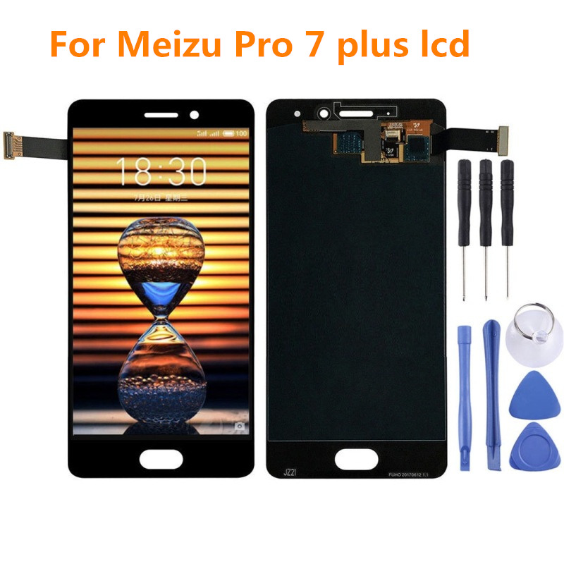 AMOLED For Meizu Pro 7 Plus Lcd Display Touch Screen Assembly Full Screen For Meizu Pro7 Plus Display Assembly M792M M792H Lcd
