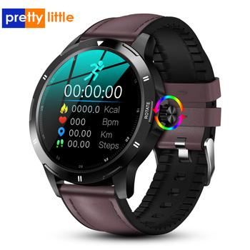 K-15 nowy inteligentny zegarek mężczyźni termometr multi-dial w pełni dotykowy ekran Smartwatch dla androida telefon z IOS nadajnik sportowy Fitness tanie i dobre opinie PRETTYLITTLE CN (pochodzenie) Brak Na nadgarstek Zgodna ze wszystkimi 128 MB Krokomierz Rejestrator aktywności fizycznej