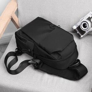 Image 2 - Jack Kevin Fashion Men Anti Theft Chest Bag School Summer Short Trip Messengers Bag Waterproof Nylon Single Shoulder Strap Pack