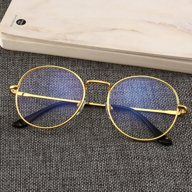 Black Glasses Mobile Phone Glasses Radiation Blue Light Men's Flat Mirror Computer Glasses Anti Blue Ray Glasses Clear Large 2