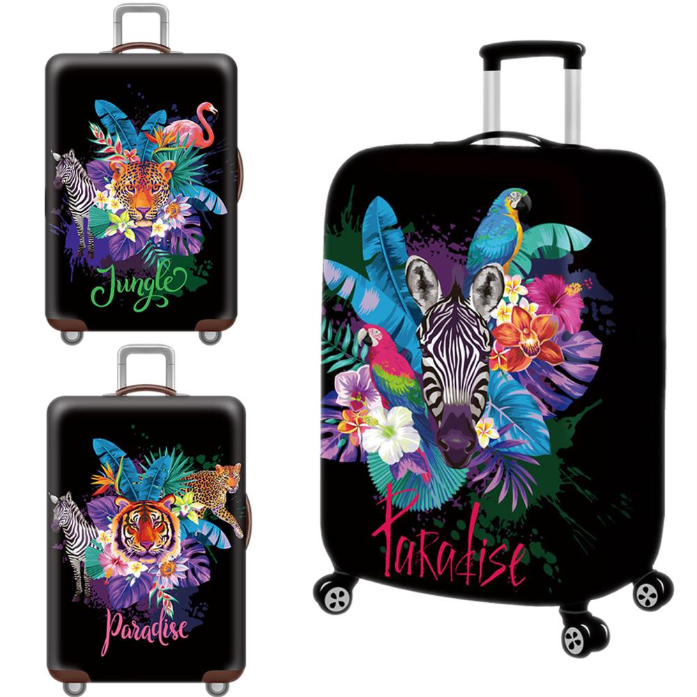 Creative Animal Luggage Cover Protective Case Waterproof Thicken Elastic 3D Suitcase Cover For 18-32 Inch XL Travel Accessorie