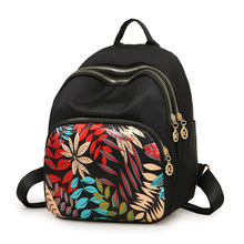 Female mini  Waterproof Oxford Women Backpack Fashion Women Travel Bag Brand Ladies Large Capacity Backpack
