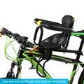 Детское Велосипедное Сиденье быстросъемное сиденье велосипедное седло для детей безопасное сиденье с подлокотниками и педаль Аксессуары ...