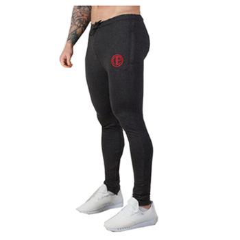 Nowa markowa odzież spodnie dresowe męskie spodnie sportowe męskie spodnie do biegania bawełniane spodnie sportowe spodnie męskie spodnie męskie spodnie Fitness tanie i dobre opinie LENTHIMEN COTTON POLIESTER Troczek Pełna długość Bieganie Dobrze pasuje do rozmiaru wybierz swój normalny rozmiar
