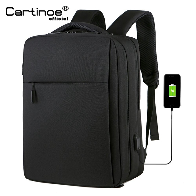 Cartinoe USB Charging 17.3/15.6 Inch Laptop Bag For Macbook Air/Pro Anti Theft Laptop Backpack Men Travel Bag Male Mochila Bag