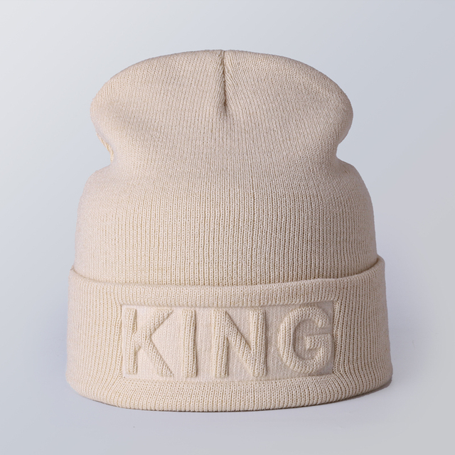 King In-printed Beanie