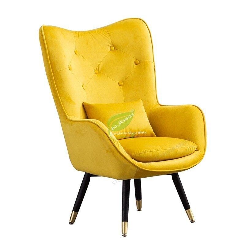 Nordique moderne siège simple canapé d'angle Design canapé simple avec accoudoirs lit salon meubles canapé rose